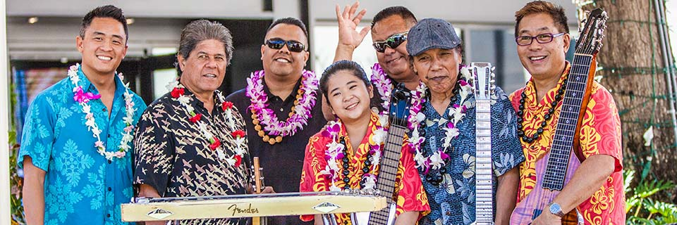 2017 Hawaiian Steel Guitar Festival at Ka Makana Ali'i