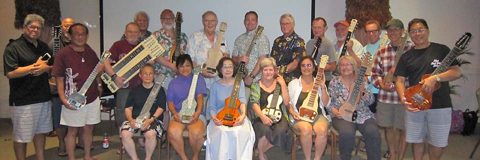 Hawaiian Steel Guitar Camp Class of 2017