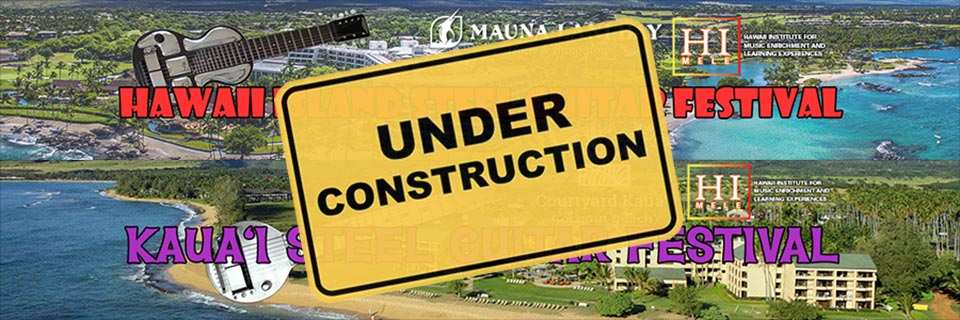 Festivals Under Construction