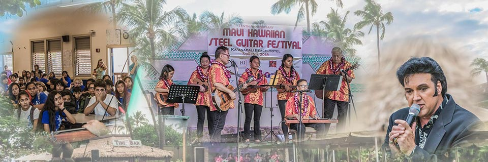 School Visits, Steel Guitars, and Elvis Sweep Maui